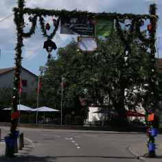 Bogen beim Affenbrunnen/Sternenplatz