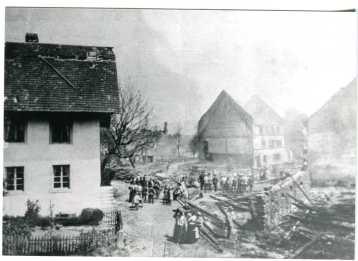 Brand im Oberdorf